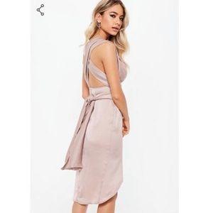 92773e8f9b1 Missguided Dresses - Mauve Bridesmaid Multiway Dress